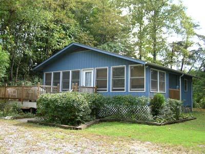 Bryson City Deep Creek Cabin Rental